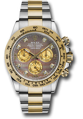 Rolex Steel and 18k YG Daytona #116503 bkmd