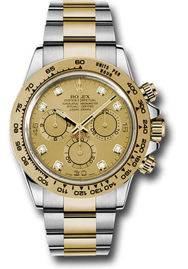 Rolex Steel and 18k YG Daytona #116503 chd