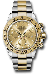 Rolex Steel and 18k YG Daytona #116503 chi