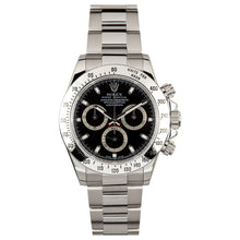 Rolex Stainless Steel Daytona #116520 Black Dial