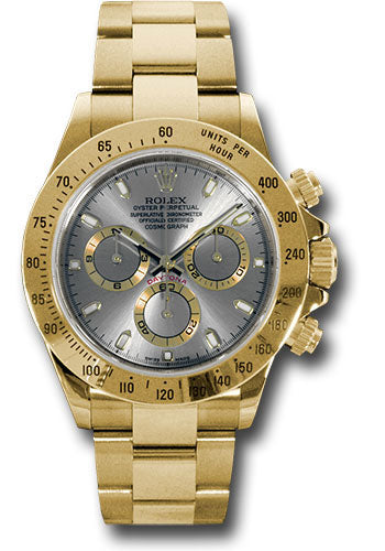 Rolex Steel and 18K YG Daytona #116528 gs