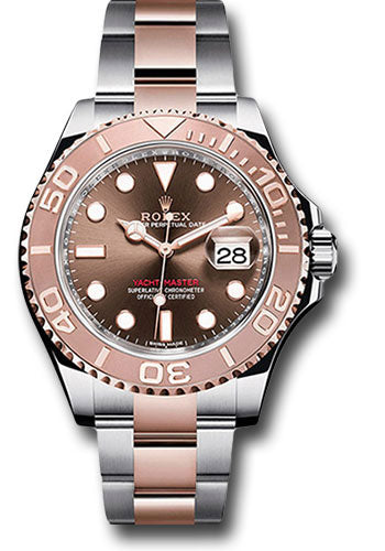 Rolex Steel and 18k RG Yacht-Master #116621 cho
