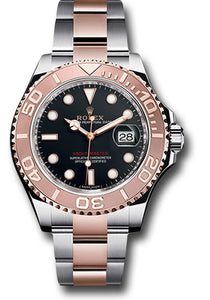 Rolex Steel and 18k RG Yacht-Master #116621 bk