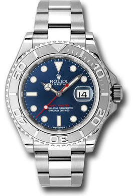 Rolex Steel and Platinum Yacht-Master #116622 bl