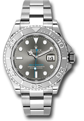 Rolex Steel and Platinum Yacht-Master #116622 dkrh