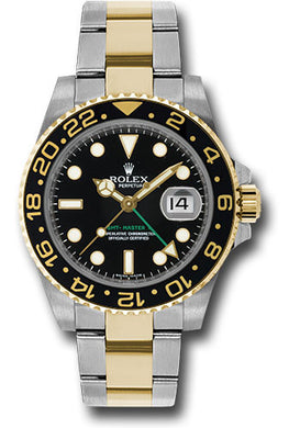 Rolex Steel and 18k YG GMT-Master II #116713LN