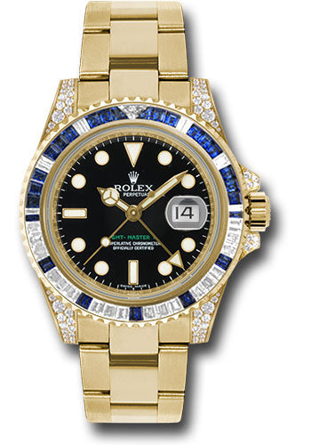 Rolex 18k YG GMT-Master II Special #116758SA