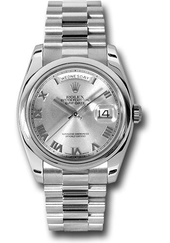 Rolex Platinum Day-Date President -36mm #118206