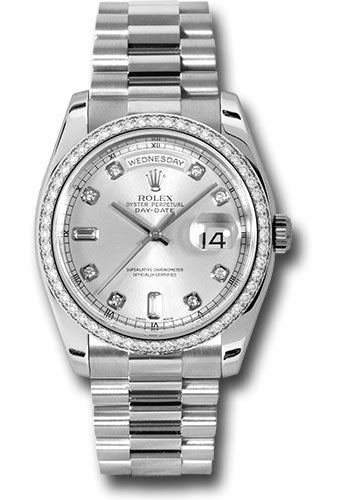 Rolex Platinum Day-Date President - 36mm #118346 sdp
