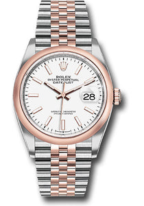 Rolex Steel and Rose Gold Datejust-36mm #126201