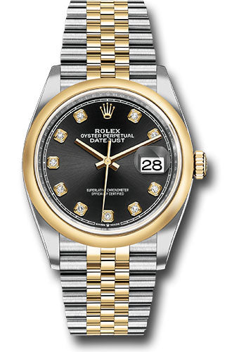 Rolex Steel and Yellow Gold Datejust-36mm #126203