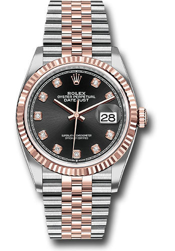 Rolex Steel and Rose Gold Datejust-36mm #126231