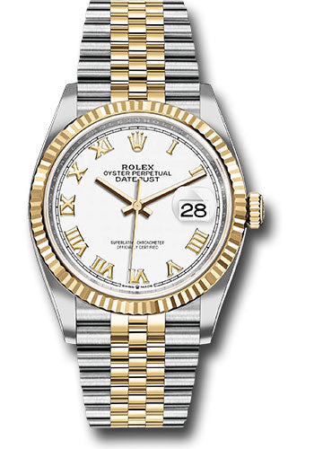 Rolex Steel and Yellow Gold Datejust-36mm #126233