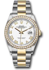 Rolex Steel and Yellow Gold Datejust-36mm #126283