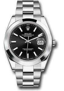 Rolex Stainless Steel Datejust 41mm #126300 bkio