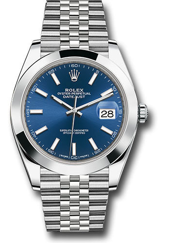 Rolex Stainless Steel Datejust 41mm #126300 blij