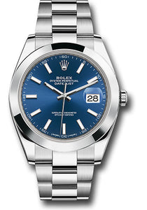 Rolex Stainless Steel Datejust 41mm #126300 blio
