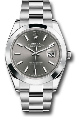 Rolex Stainless Steel Datejust 41mm #126300 dkrio