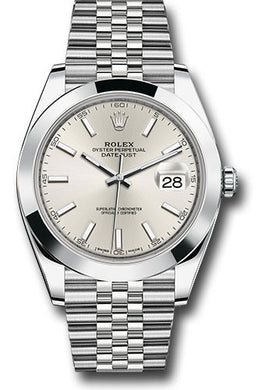 Rolex Stainless Steel Datejust 41mm #126300 sij