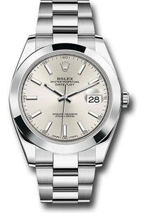 Rolex Stainless Steel Datejust 41mm #126300 sio