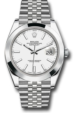 Rolex Stainless Steel Datejust 41mm #126300 wij
