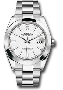 Rolex Stainless Steel Datejust 41mm #126300 wio