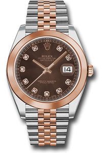 Rolex Steel and 18k RG Datejust 41mm #126301 chodj