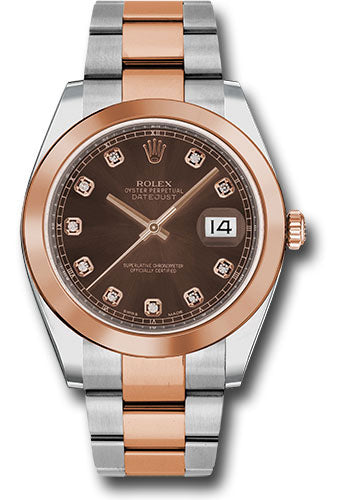 Rolex Steel and 18k RG Datejust 41mm #126301 chodo