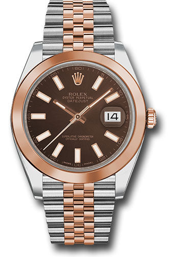 Rolex Steel and 18k RG Datejust 41mm #126301 choij