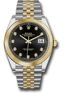 Rolex Steel 18k YG Datejust 41mm #126303 bkdj