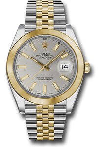 Rolex Steel 18k YG Datejust 41mm #126303 sij