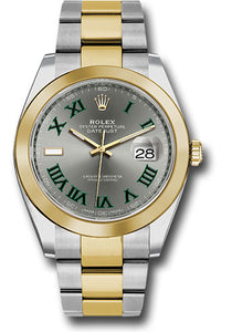 Rolex Steel 18k YG Datejust 41mm #126303 slgro