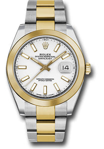Rolex Steel 18k YG Datejust 41mm #126303 wio