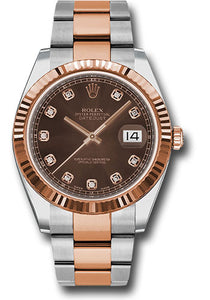 Rolex Steel 18k RG Datejust 41mm #126331 chodo