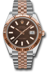 Rolex Steel 18k RG Datejust 41mm #126331 choij