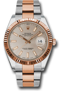 Rolex Steel 18k RG Datejust 41mm #126331 suio