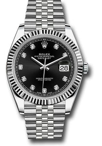 Rolex Steel 18k WG Datejust 41mm #126334 bkdj