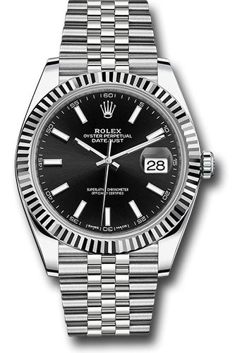Rolex Steel 18k WG Datejust 41mm #126334 bkij