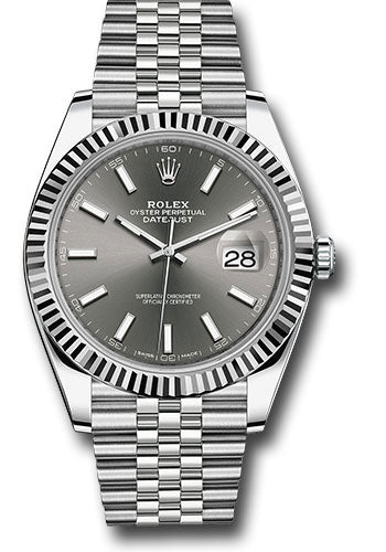 Rolex Steel 18k WG Datejust 41mm #126334 dkrij
