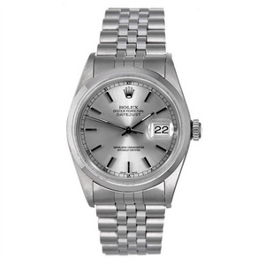Rolex Stainless Steel #16200 Silver Dial