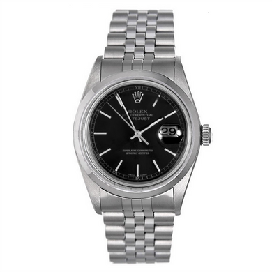 Rolex Stainless Steel #16200 Black Dial