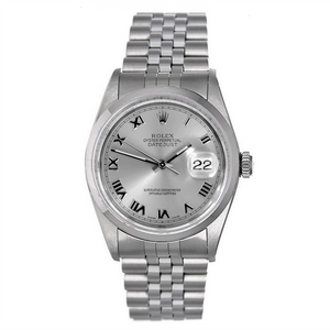 Rolex Steel and White Gold Datejust #16234