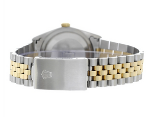 Rolex Steel and Gold Datejust #16013 Champ Dial