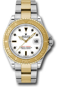 Rolex Steel and 18k YG Yachtmaster #16623 w