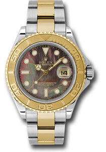 Rolex Steel and 18k YG Yachtmaster #16623 dkmop
