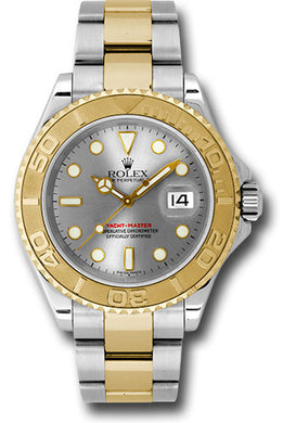 Rolex Steel and 18k YG Yachtmaster #16623 g