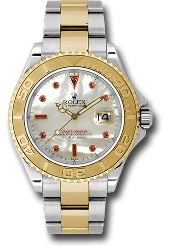 Rolex Steel and 18k YG Yachtmaster #16623 mr