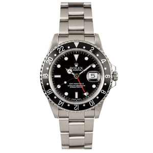 Rolex GMT Master II #16710 Black Dial