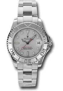 Rolex Steel and Platinum Yachtmaster - 35mm #168622