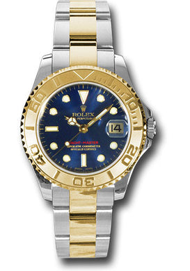Rolex Steel and 18k YG Yachtmaster - 35mm #168623 bl